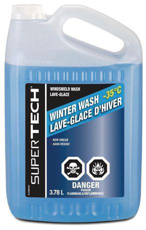 Winter Wash Windshield Washer -35C