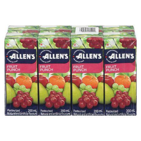 Allen's Fruit Punch 8x200mL - image 1 of 3