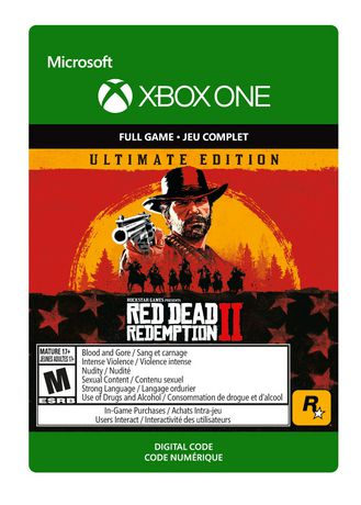 Xbox One Red Dead Redemption 2: Ultimate Edition