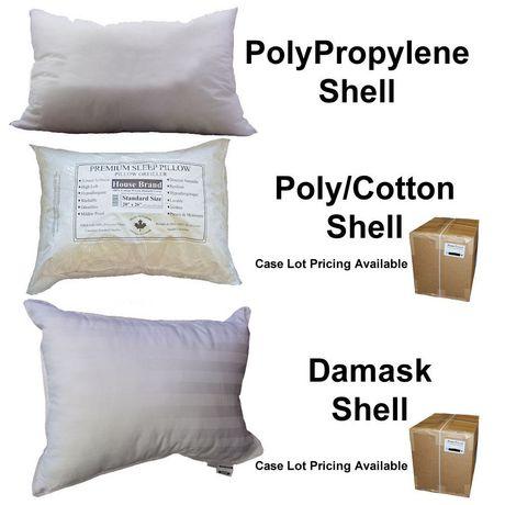 Oreiller pour lit HomeTex à couverture en tissu - image 5 de 7