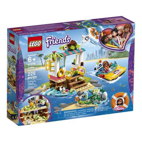 LEGO®  La mission de sauvetage des tortues Turtles Rescue Mission 41376 - image 2 de 7