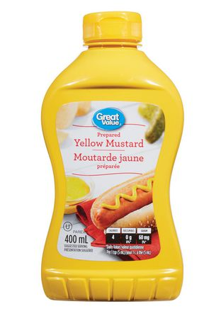 Great Value Prepared Yellow Mustard - image 1 of 2
