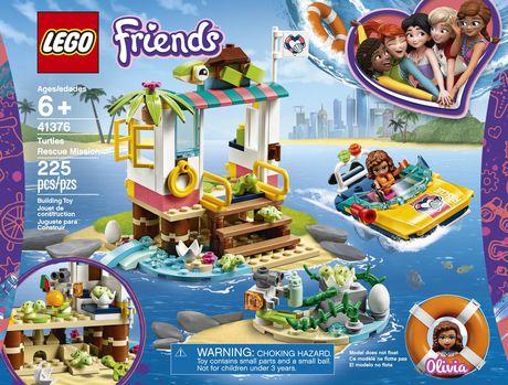 LEGO®  La mission de sauvetage des tortues Turtles Rescue Mission 41376 - image 5 de 7
