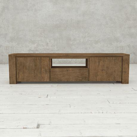 Urban Woodcraft 72'' Tuscany Reclaimed Teak Dark TV Stand - image 3 of 4