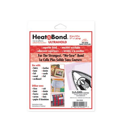HeatnBond Ultra Iron-On Adhesive - 44 x 90cm Package - image 1 of 1