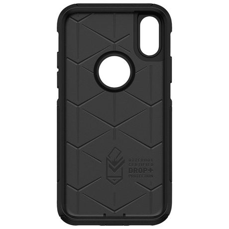 size 40 42f25 83524 OtterBox Commuter Fitted Hard Shell Case for iPhone X/XS - Black