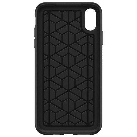 finest selection c7e40 01ea1 OtterBox Symmetry Fitted Hard Shell Case for iPhone XS Max - Black ...