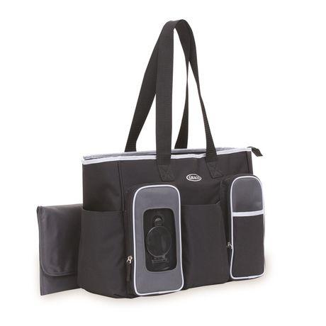 b6a46efb19 Graco Smart Organizer System Tote Diaper Bag