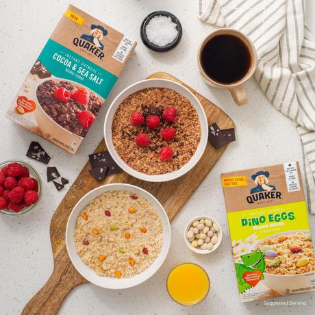 Quaker Dino Eggs Brown Sugar Instant Oatmeal - image 4 of 7