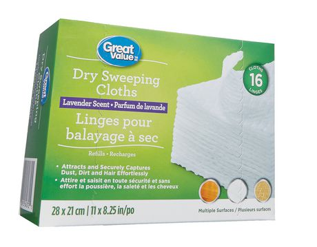 Great Value Lavender Scent Dry Sweeping Cloths - image 3 of 3