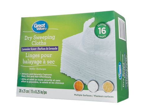 Great Value Lavender Scent Dry Sweeping Cloths - image 2 of 3