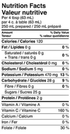 Minute Maid® Orange Juice Frozen Concentrate 295 mL Can - image 4 of 4