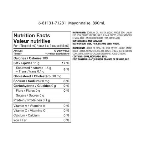 Great Value Real Mayonnaise - image 2 of 2