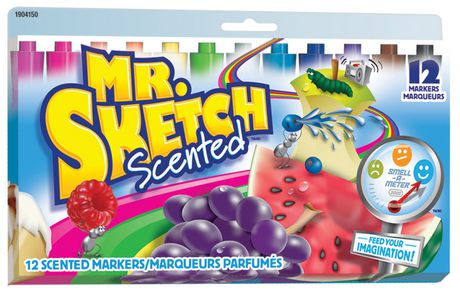Mr. Sketch Scented Colour Markers, Assorted, 12-Pack - image 1 of 1