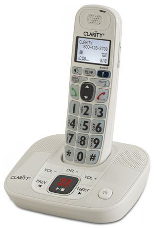 Plantronics Clarity D714 Phone with Answering Machine ...