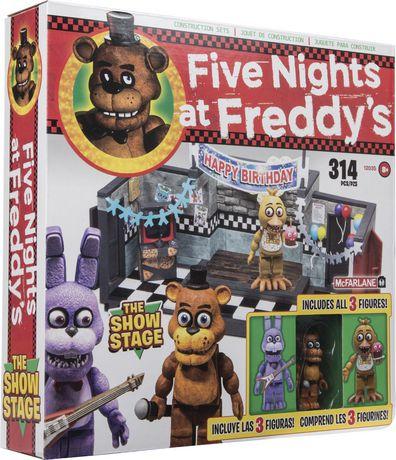 Ensemble de construction Five Nights at Freddy's - Scène de spectacle - image 1 de 2