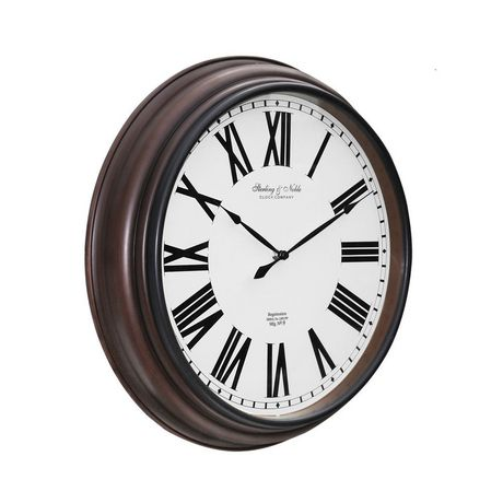 20 50 8 Cm Traditional Roman Numeral Wall Clock