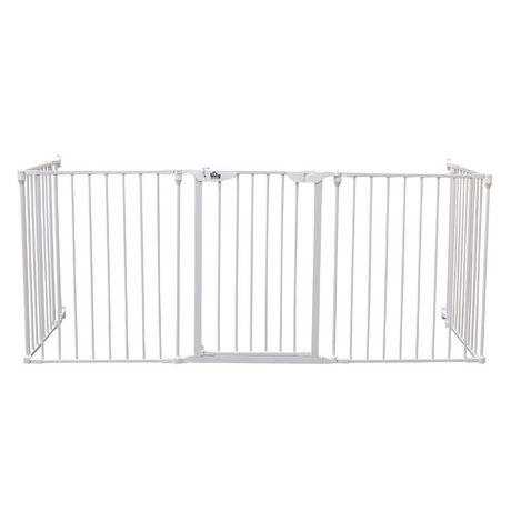 Bily White Metal Barrier Superyard - image 3 of 4