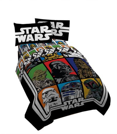 ens draps pour lit classique de star wars walmart canada. Black Bedroom Furniture Sets. Home Design Ideas