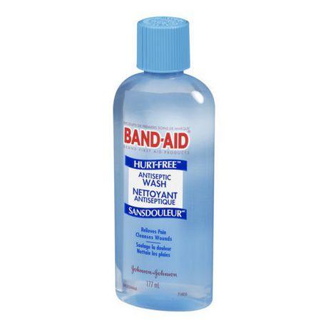 BAND-AID®Brand HURT-FREE®Antiseptic Wash, 177 ml - image 2 of 3