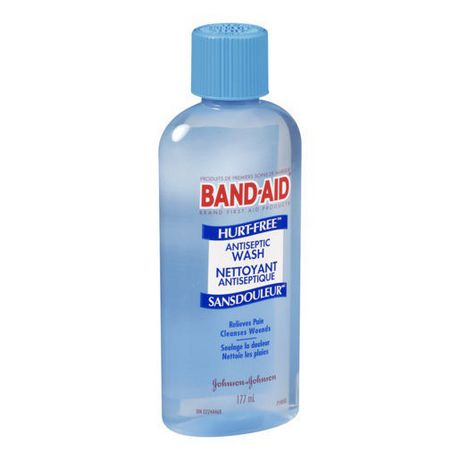 BAND-AID®Brand HURT-FREE®Antiseptic Wash, 177 ml - image 3 of 3