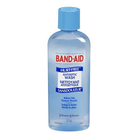 BAND-AID®Brand HURT-FREE®Antiseptic Wash, 177 ml - image 1 of 3