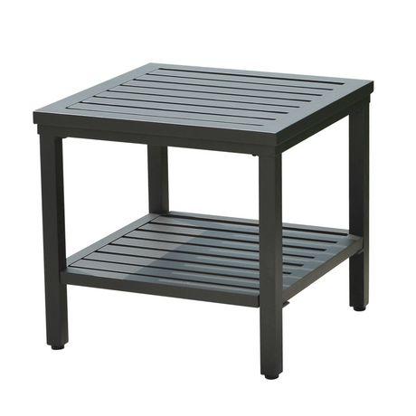 Sunjoy Side Table Patio Furniture | Walmart.ca