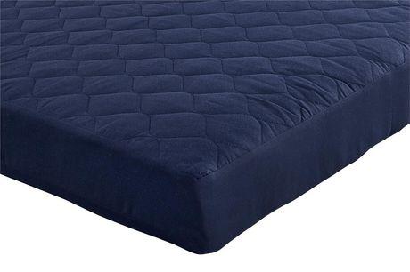 blue twin mattress. DHP 6\u201d Twin Quilted Mattress Blue