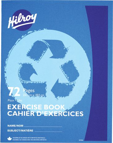 Recycled Exercise Book Plain - image 1 of 1