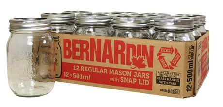 Bernardin Regular Mason Jar with Standard Lid - image 1 of 2