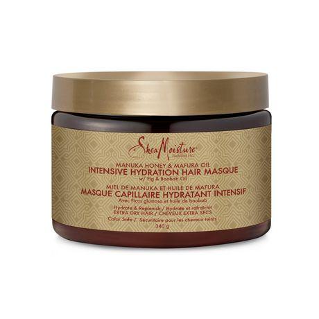 Shea Moisture Manuka Honey & Mafura Oil Intensive Hydration Hair Masque 340g - image 2 of 3