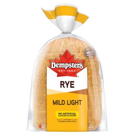 Dempster's Mild Light Rye,