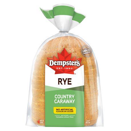 Pain de seigle avec graines de carvi Country Caraway de Dempster'sMD - image 1 de 2