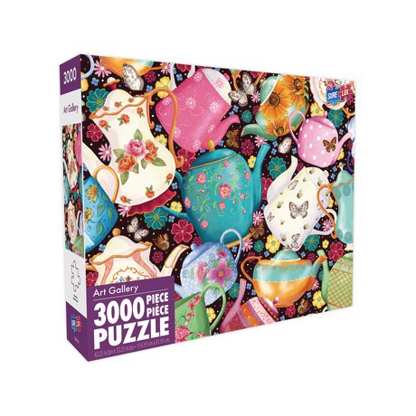 Sure-Lox 3000pc Teapots and Teacups Street Puzzle - image 2 of 2
