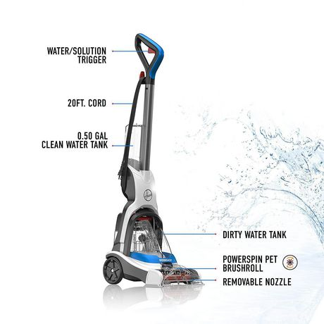 HOOVER Powerdash Pet Compact Carpet Cleaner - image 2 of 7