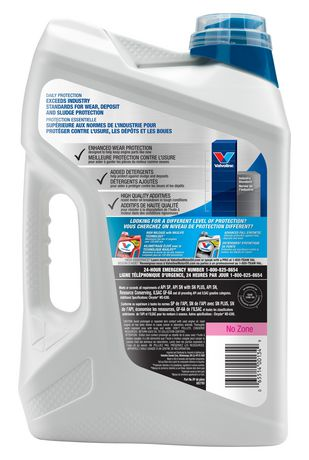 Valvoline Daily Protection Conventional 10W30 Motor Oil 5L Case Pack - image 3 of 4