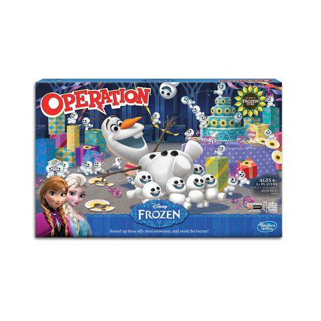 Hasbro Gaming Disney Frozen Operation Game - image 1 of 2