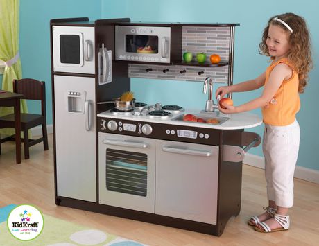 Awesome Kidkraft Uptown Espresso Kitchen Contemporary