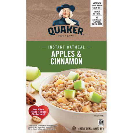 Quaker Apple & Cinnamon Instant Oatmeal - image 1 of 7