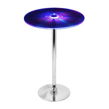 LumiSource Spyra Bar Table - image 1 of 8