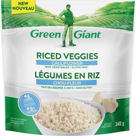 Legumes En Riz Green Giant Au Chou Fleur Walmart Canada