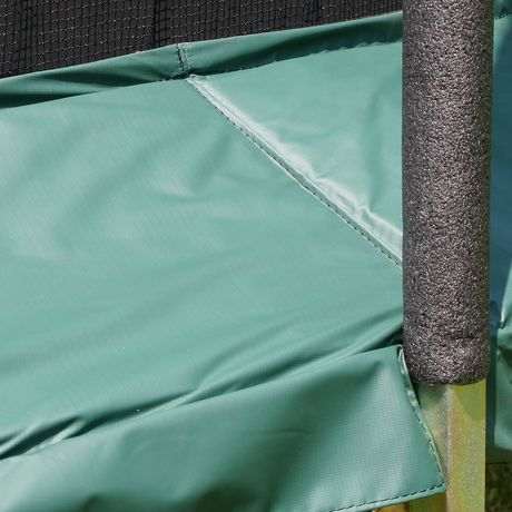 Skywalker Trampolines 15' Green Round Trampoline And Enclosure - image 6 of 8