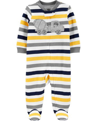 Tenue avec pyjama-grenouillère pour nouveau-née garcon Child of Mine made by Carter's – camion - image 1 de 1