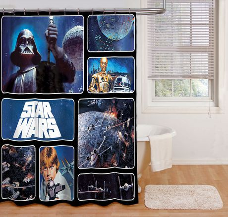 Star Wars Shower Curtain Walmart Canada