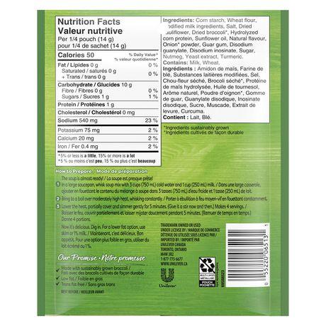 Mélange à soupe Knorr  Crème de Broccoli 52 GR - image 3 de 7