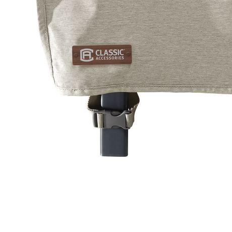 Housse de chaise longue de patio Montlake FadeSafe de Classic Accessories - Housse robuste pour meuble d'extérieur avec revers imperméable - image 9 de 9
