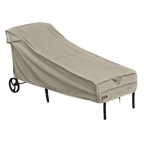 Classic Accessories Montlake Fadesafe Patio Chaise Lounge Cover