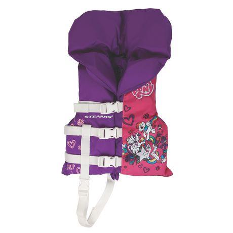 Coleman Child Nylon Antimicobial Vest - My Little Pony - image 1 of 2