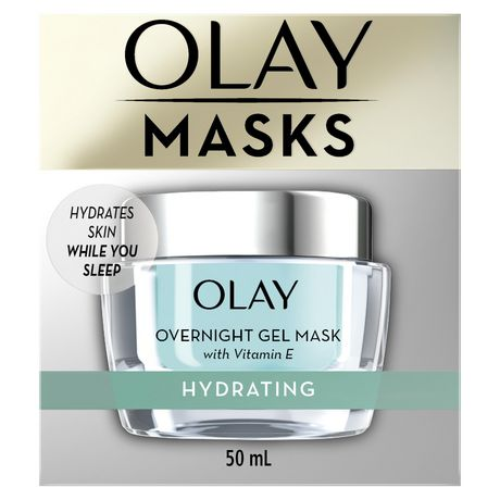 Olay Hydrating Overnight Gel Face Mask with Vitamin E - image 1 of 9