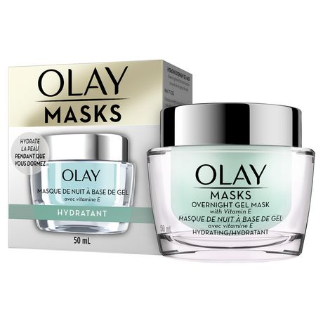 Olay Hydrating Overnight Gel Face Mask with Vitamin E - image 8 of 9